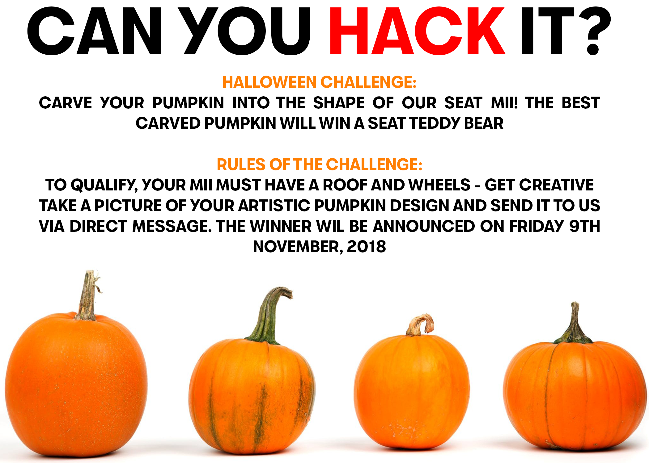 Can You Hack It - SEAT