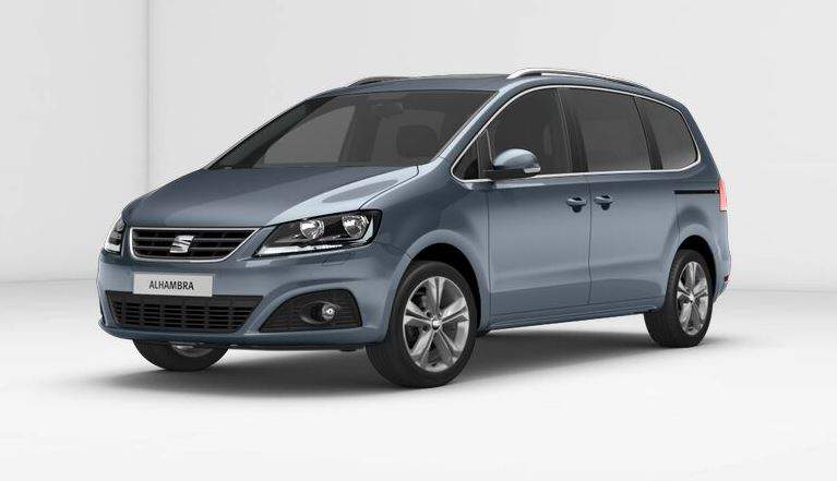 Seat Alhambra Colours Guide And Prices