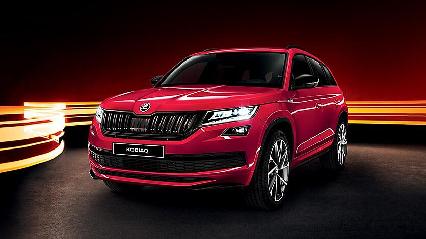 skoda kodiaq sportline opens for ordering. Black Bedroom Furniture Sets. Home Design Ideas