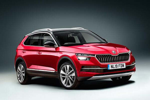 skoda 39 s new crossover suv the kamiq completes their. Black Bedroom Furniture Sets. Home Design Ideas