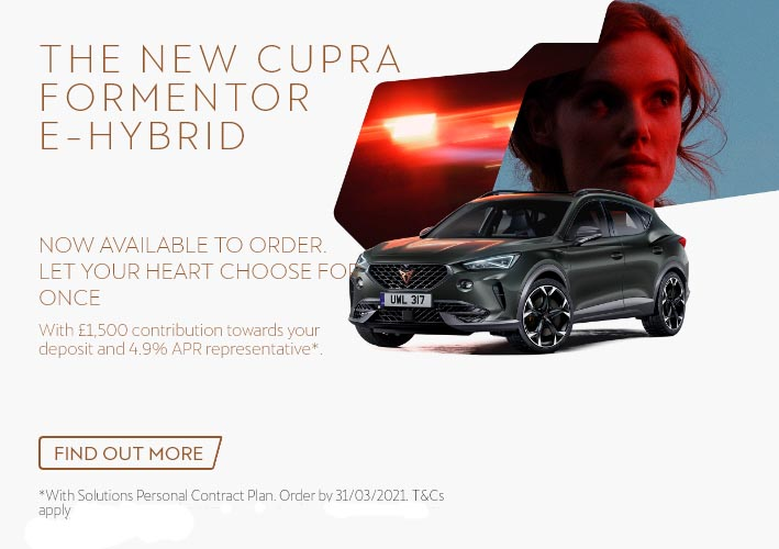 Cupra Formentor eHybrid opens for ordering