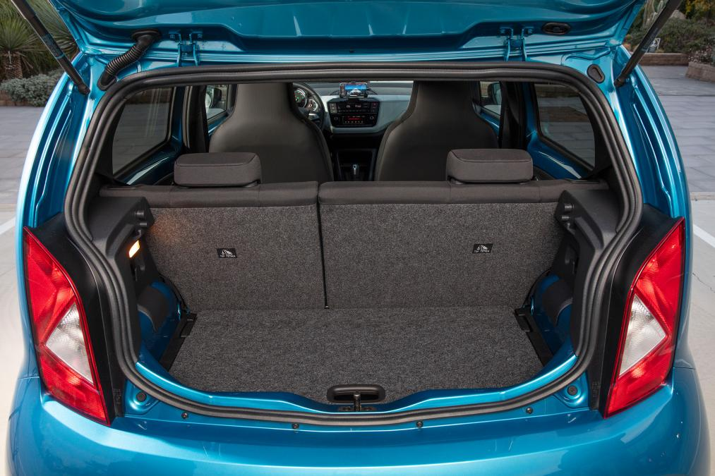 Boot Space of SEAT Mii Electric