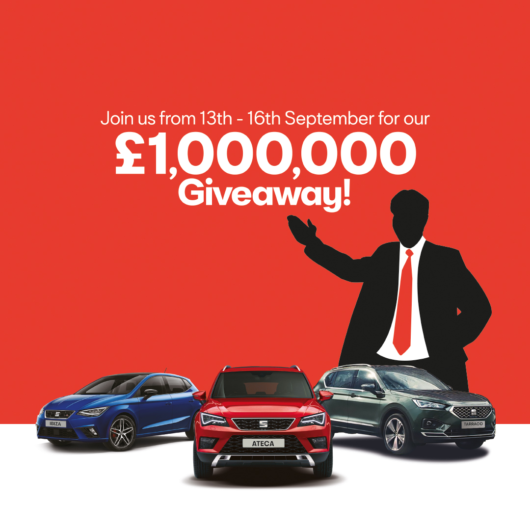 White Dove SEAT £1,000,000 Giveaway!