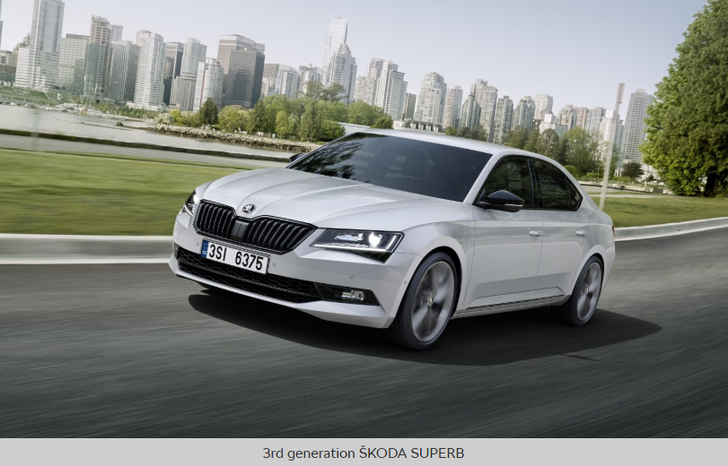 The New ŠKODA Superb: Design Revealed