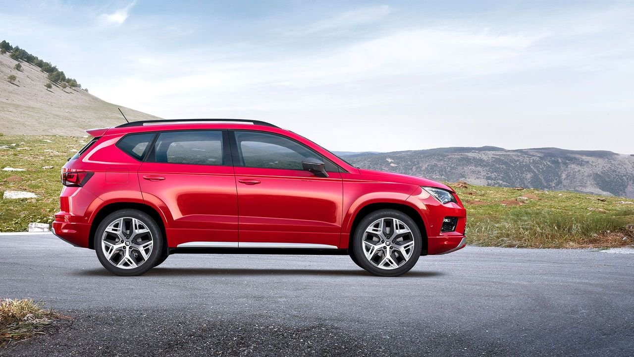 SEAT reveals pricing and spec for sporty Ateca FR