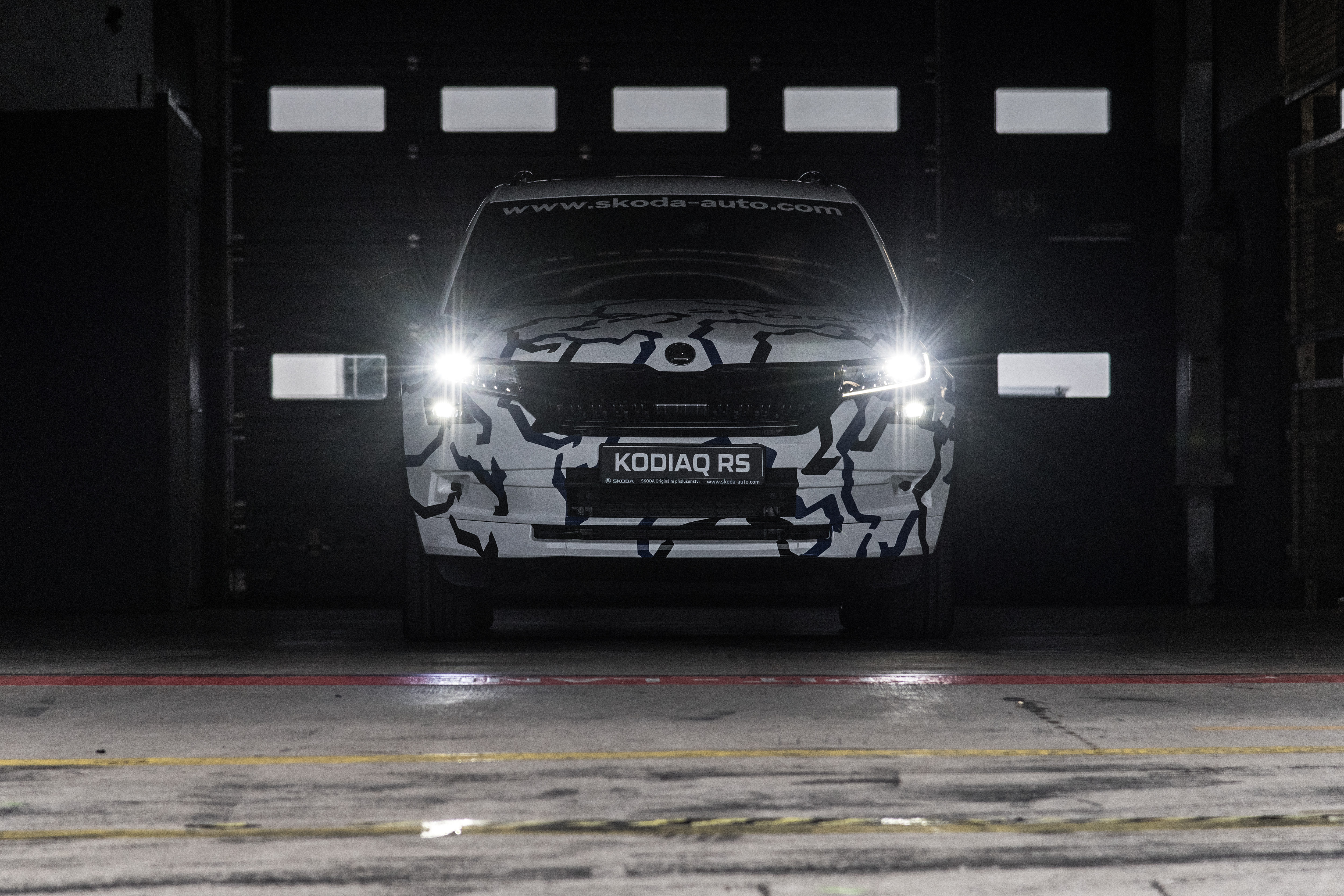 NEW ŠKODA KODIAQ RS COMPLETES RECORD-BREAKING LAP AT THE NÜRBURGRING